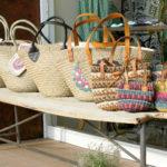 room IVY Natural Raffia Basket