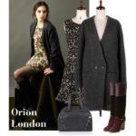 Orion Londonの新作ワンピとコートが到着