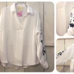 カジュアルからきちっとまで😉使える白シャツ