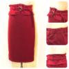 ベルト付スカート2型