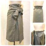 アシメントリーリボンスカート&2Wayワイドサロペット