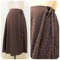 ドットプリントスカート&パンツ2型