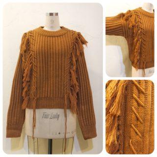 フリンジ&シャギーセーター2型