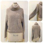 フェザーモール&シャギーセーター2型