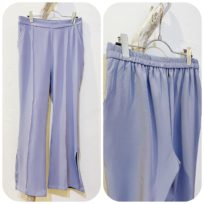 セミフレアパンツ&カットジャカードスカート